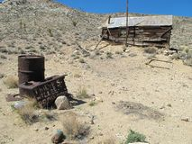 Abandoned Mine Town Stock Images