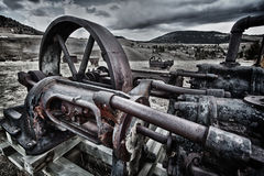 Abandoned miner's equipment in Colorado Stock Photography