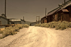 Abandoned Mining District Stock Photography