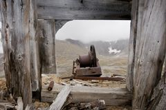 Abandoned mining relic Royalty Free Stock Images