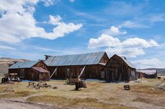 Abandoned mining town of Bodie Royalty Free Stock Photos