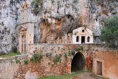 Abandoned monastery Royalty Free Stock Photography