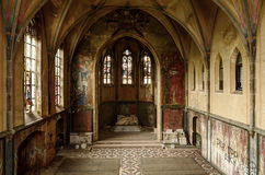 Abandoned monastry. In Germany; St. Jozefsheim Stock Images