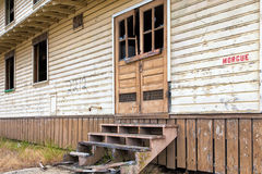 Abandoned Morgue Building at  Fort Ord Army Post Stock Images