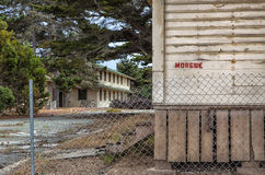 Abandoned Morgue Building at  Fort Ord Army Post Stock Image