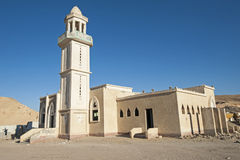 Abandoned mosque in ghost town Stock Images