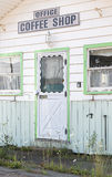 Abandoned Motel. An old abandoned sixties or seventies era motel Stock Images