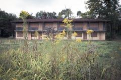 Abandoned Motel Stock Images