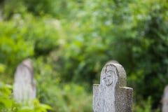 Abandoned Muslim tomb stone Stock Image