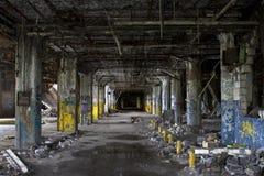 Abandoned mystery corridors Royalty Free Stock Image