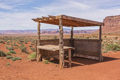 Abandoned Navajo Jewelry Stand Royalty Free Stock Photo