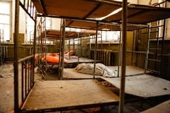 Abandoned nursery at Chernobyl Stock Image