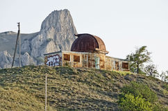 Abandoned observatory in Crimea Royalty Free Stock Photography