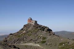 Abandoned observatory sierra nevada Royalty Free Stock Photo