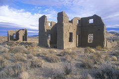Abandoned Old Army Post in Fort Churchill State Historical Park, NV Stock Photos