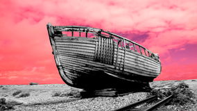 Abandoned old boat Royalty Free Stock Photos