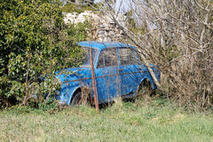 Abandoned old car Stock Image