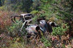 Abandoned old car royalty free stock image