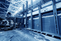 Abandoned old factory Royalty Free Stock Photography