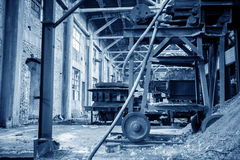 Abandoned old factory Stock Photo