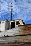 Abandoned Old Fishing Boat Stock Image