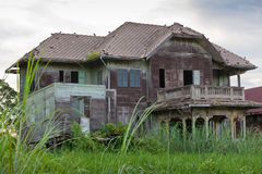 Abandoned old house Royalty Free Stock Image