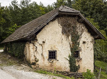 Abandoned Old House. Abandones old house located in Slovenia, it needs some work Royalty Free Stock Image