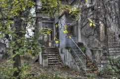 Abandoned. An old, abandoned house in Belgrade Royalty Free Stock Photography