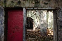 Abandoned old house horizontal Stock Photography
