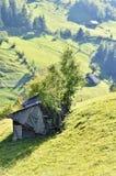 Abandoned old house. Magura, Brasov. Romania royalty free stock image