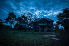 Abandoned old house Royalty Free Stock Images