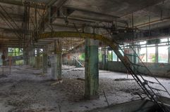 Abandoned and old laundry Royalty Free Stock Photography