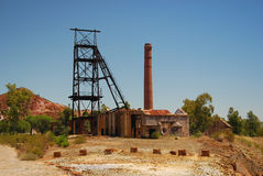 Abandoned old mine Royalty Free Stock Photography