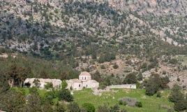 Abandoned old orthodox Christian church monastery Stock Image