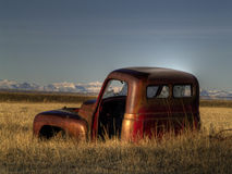 An Abandoned Old Pickup Stock Photo