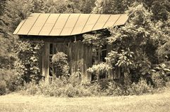 Abandoned old shed Royalty Free Stock Photo