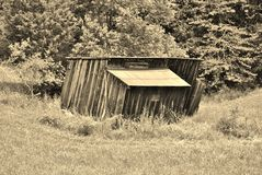 Abandoned old shed Royalty Free Stock Image