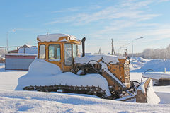 Abandoned old small excavator Royalty Free Stock Photography