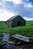 Abandoned Old stone barn building Royalty Free Stock Photos