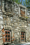 Abandoned old stone house Stock Photography