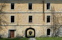 Abandoned old stone house Royalty Free Stock Photo