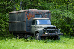 Abandoned old truck Royalty Free Stock Photo