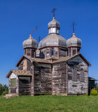 Abandoned old Ukrainian church Royalty Free Stock Photos