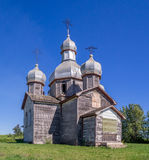 Abandoned old Ukrainian church Stock Photos