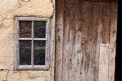Abandoned old village house. High Details. Royalty Free Stock Photo