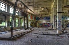 Abandoned old warehouse Stock Images
