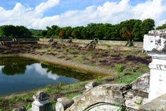 Abandoned old water cistern. Mingun. Sagaing region. Myanmar. Mingun is a town in Sagaing Region Stock Images