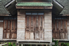 Abandoned old wooden house Royalty Free Stock Photos