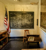 Abandoned One Room Schoolhouse Royalty Free Stock Images