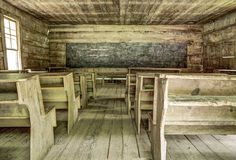 Abandoned One Room Schoolhouse Royalty Free Stock Image